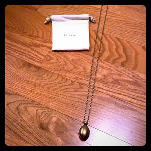 J. Crew long necklace with pendant